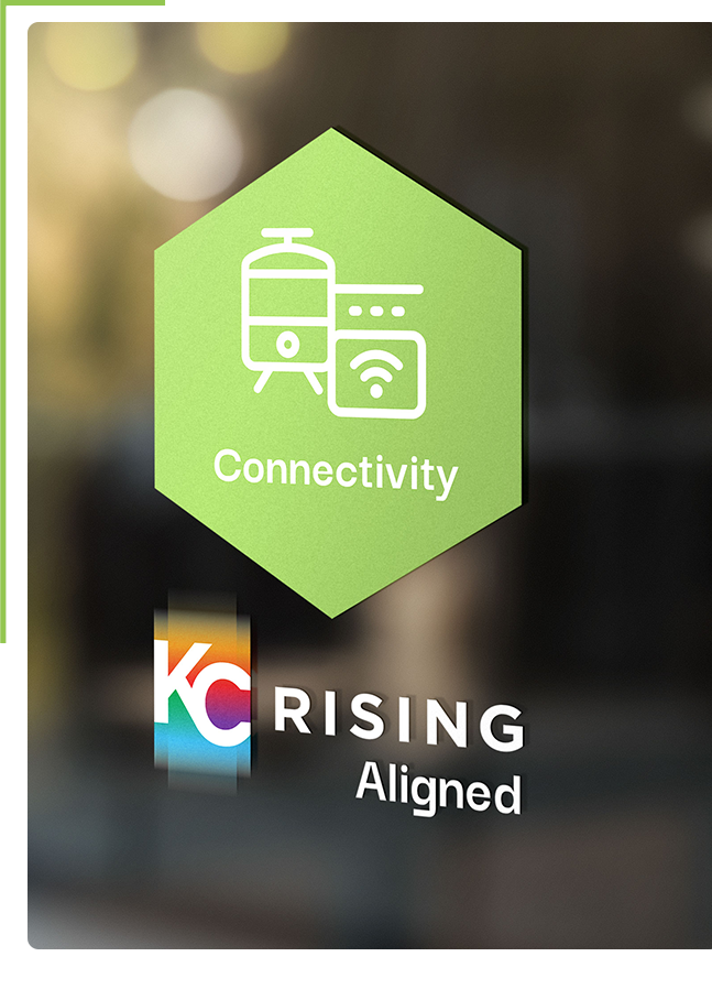 Align with KC Rising Badge